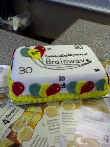 A very special cake