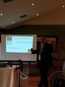 Paul Hoskin speaking at The Maldon Business Showcase